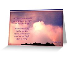 He Will Keep Me Safe Greeting Card