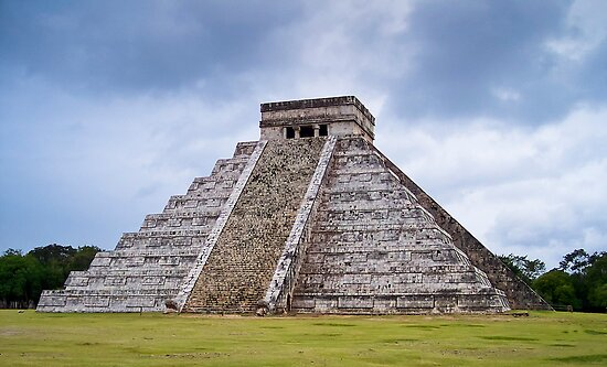 Pyramid Of Kukulkan by Radek Hofman