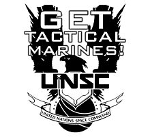 HALO - Get Tactical Marines! - UNSC Photographic Print