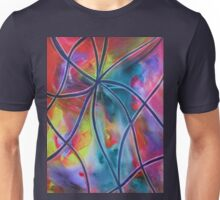 Faux -Stained Glass 1 Unisex T-Shirt