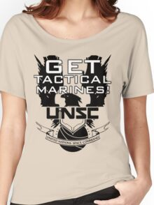 HALO - Get Tactical Marines! - UNSC Women's Relaxed Fit T-Shirt