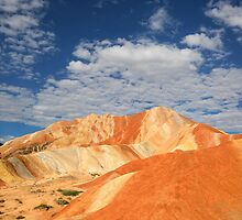 """Rainbow Mountains"" of Zhangye by SeeOneSoul"
