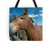 Mule From 1880 Town Tote Bag