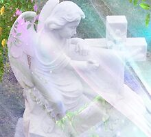 Dear God, Protect Our Friends ~ Angel by Marie Sharp