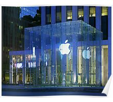 Apple Store 5th Avenue NYC Poster