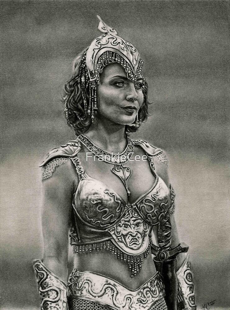 Athena Goddess of Wisdom by FrankieCee
