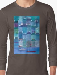 Paris Blues Long Sleeve T-Shirt