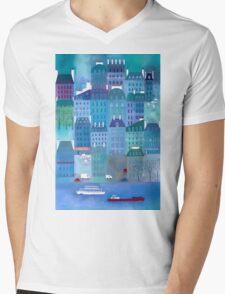 Paris Blues Mens V-Neck T-Shirt