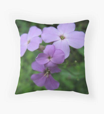 Purple Sweetness Throw Pillow