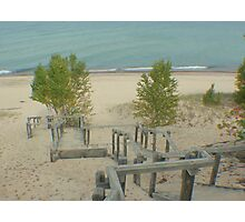 Sand or Sandy Stairs? Photographic Print
