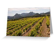 Cote du Rhone Wine Trail Greeting Card