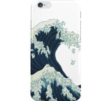 Japanese rabbit tsunami iPhone Case/Skin