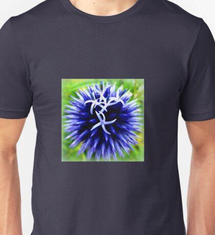 Blue Thistle Unisex T-Shirt