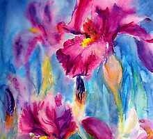 Iris Carnival by Ruth S Harris