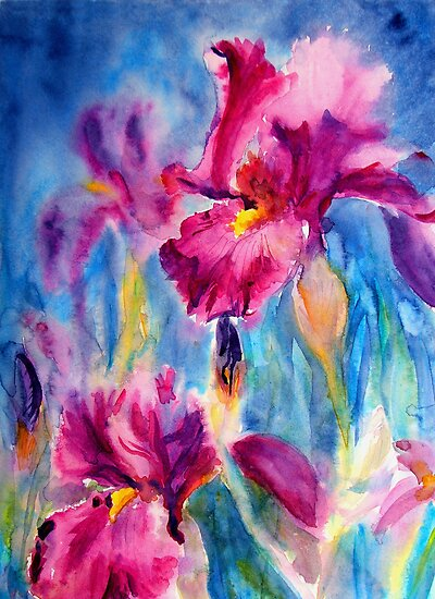 Iris Carnival by Ruth S Harris
