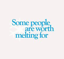 Frozen - Some people are worth melting for by Call-me-dickie