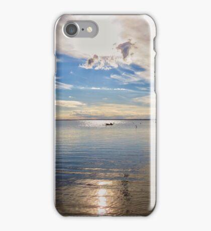 Lake Bonney, Barmera iPhone Case/Skin