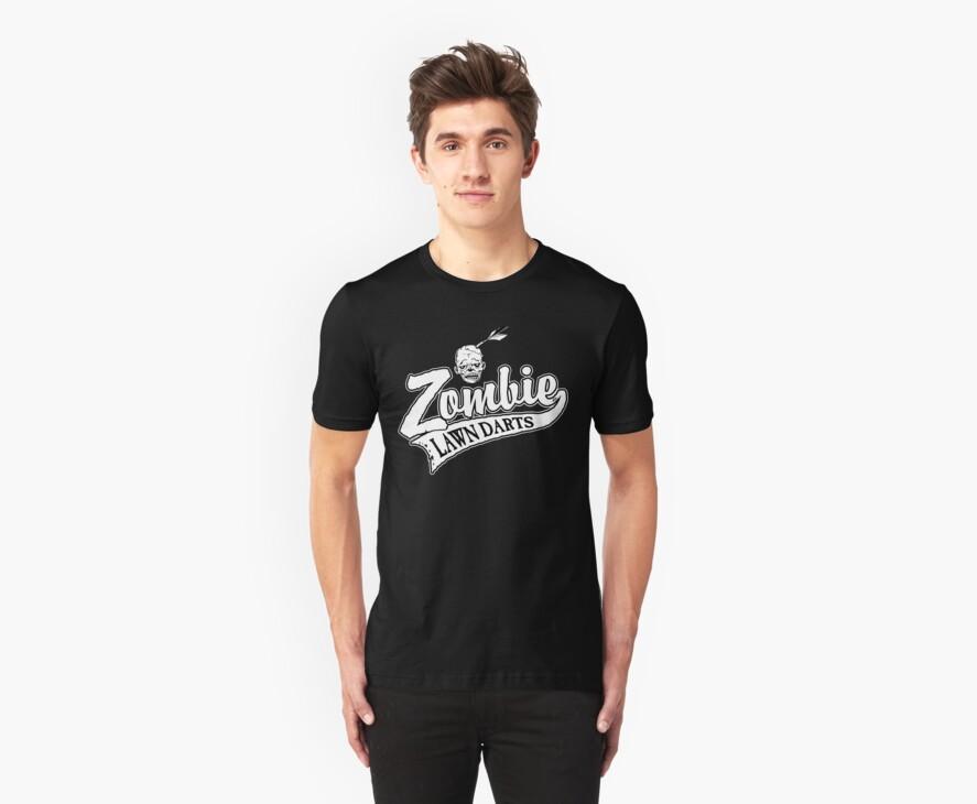 Zombie Lawn Darts July Edition by ZugArt