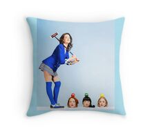 Heathers the Musical Cover Throw Pillow