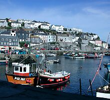 Mevagissey Harbour by Spiritmaiden