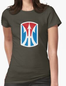 11th Infantry Brigade (United States - Historical) Womens Fitted T-Shirt
