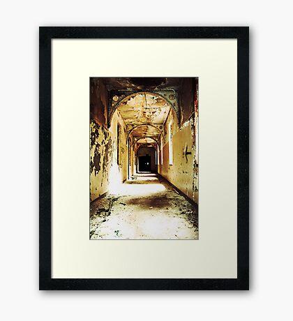 Pilgrim State Framed Print