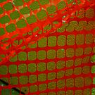 Netting Abstract  by heatherfriedman