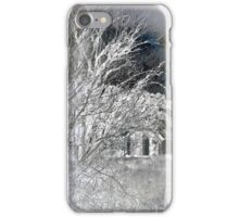 Snow on snow - Icy cold iPhone Case/Skin