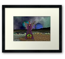 Gaze into the crystal ball and find another future Framed Print
