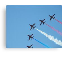 Red Arrows 2010 Canvas Print