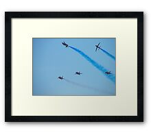 Red Arrows June 2010 Framed Print