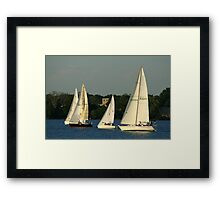 Susquehanna River in Maryland Framed Print