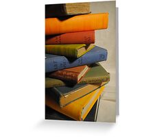 Books 9 Greeting Card