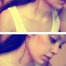 Self Portrait I - Concentrating by Rebecca Tun