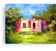 LITTLE HOUSE ON JOPLIN AVENUE Canvas Print
