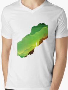 Toxic ISOLATION Mens V-Neck T-Shirt