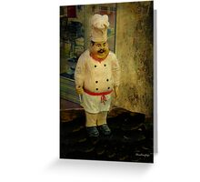 The chef - Lost in the past Greeting Card