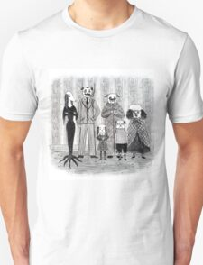 Addams Family Dogs T-Shirt