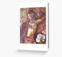 Tribal Belly Dance Greeting Card