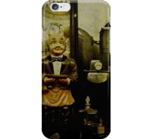 The waiter - Lost in the past iPhone Case/Skin