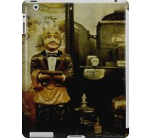 The waiter - Lost in the past iPad Case/Skin