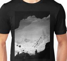 Snowy Isolation Unisex T-Shirt