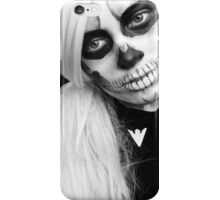 Skelleton girl iPhone Case/Skin