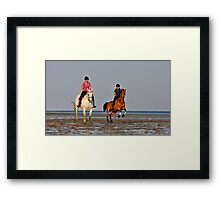 Three, two, one, GO GO GO Framed Print