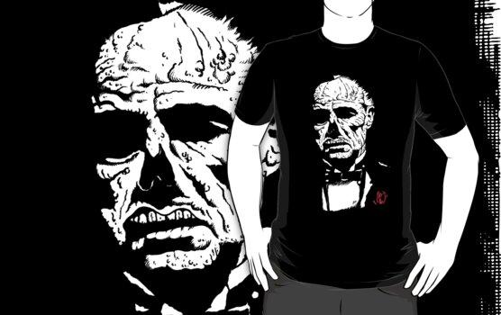 """Zombie Brando II """"The ZomFather"""" by ZugArt"""