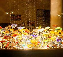 Glass Water Garden Beauty by artistjanebush