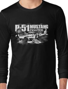P-51 Mustang Long Sleeve T-Shirt