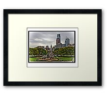 Philly Blues Framed Print