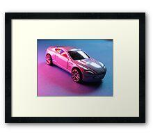 Aston Martin V8  Toy Model Framed Print