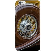 Auburn 12 Spare Tire iPhone Case/Skin